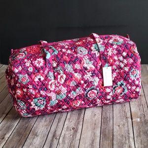 Vera Bradley Travel Duffel - Bloom Berry Pattern